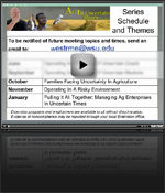 Webinar Closing Comments