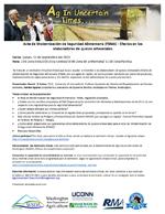 Acta de Modernización de Seguridad Alimentaria (FSMA) - Efectos en los elaboradores de quesos artesanales